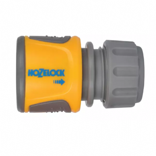 "Hozelock 2070 Soft Touch Hose End Connector 12.5mm - 15mm (1/2"" - 5/8"")"